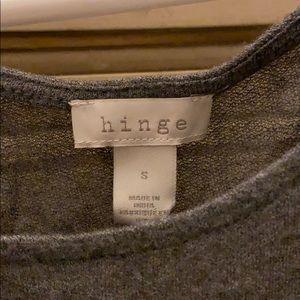 Hinge (gray)T-shirt super soft!, light weight! New